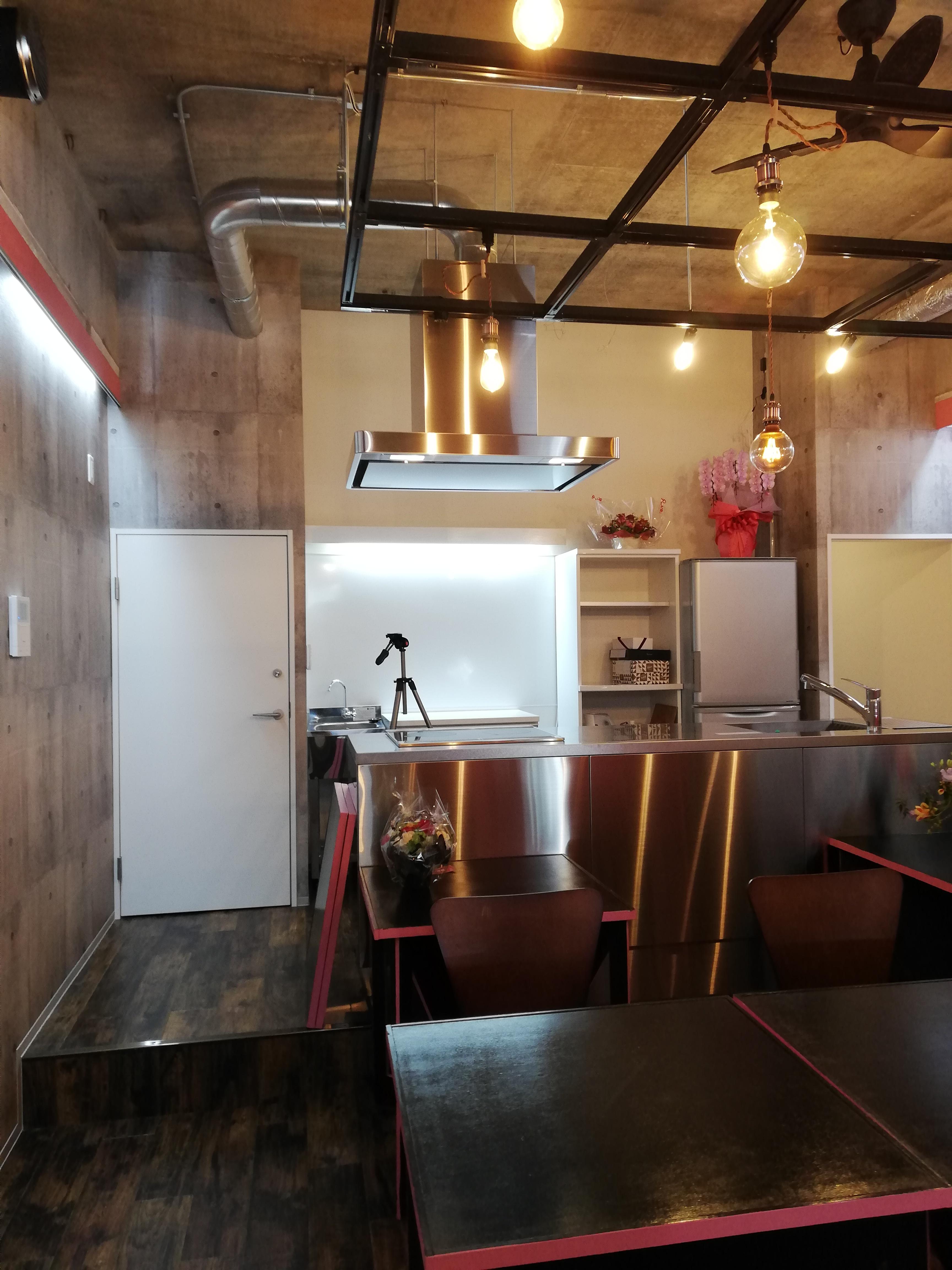 キッチン付きレンタルスペース セカンドキッチン 室内写真