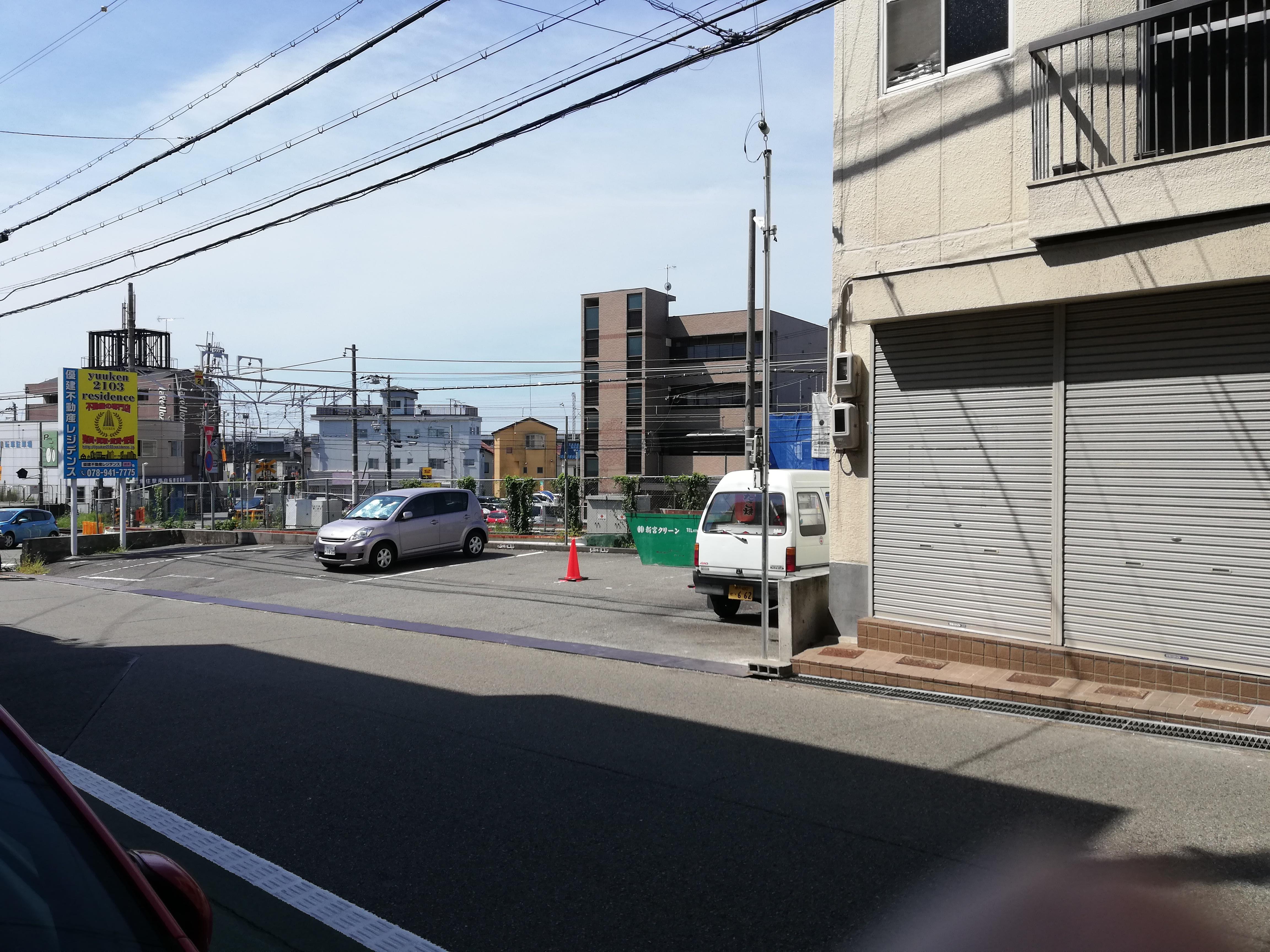 JR魚住駅 近くの月極駐車場